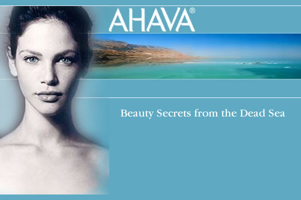 Ahava Cosmetics Dead Sea